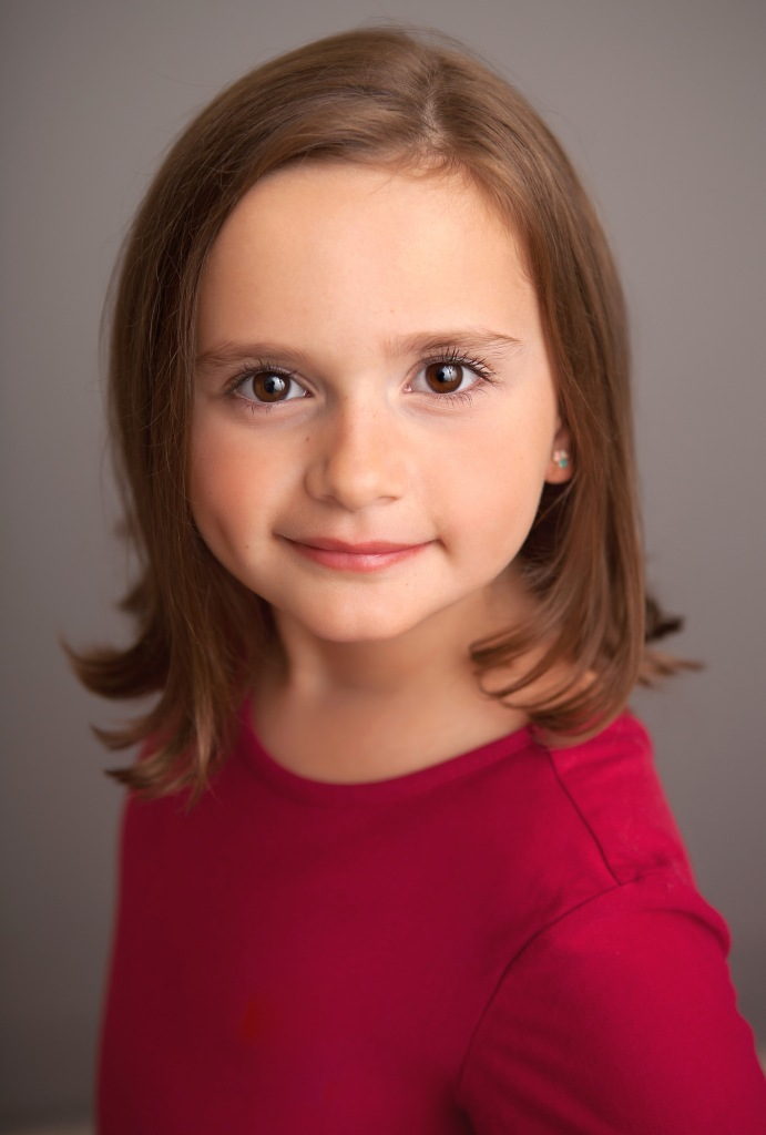 Elizabeth Howlett, Child Actor. Elizabeth is based in Louisville, KY, but acts all over the United States.
