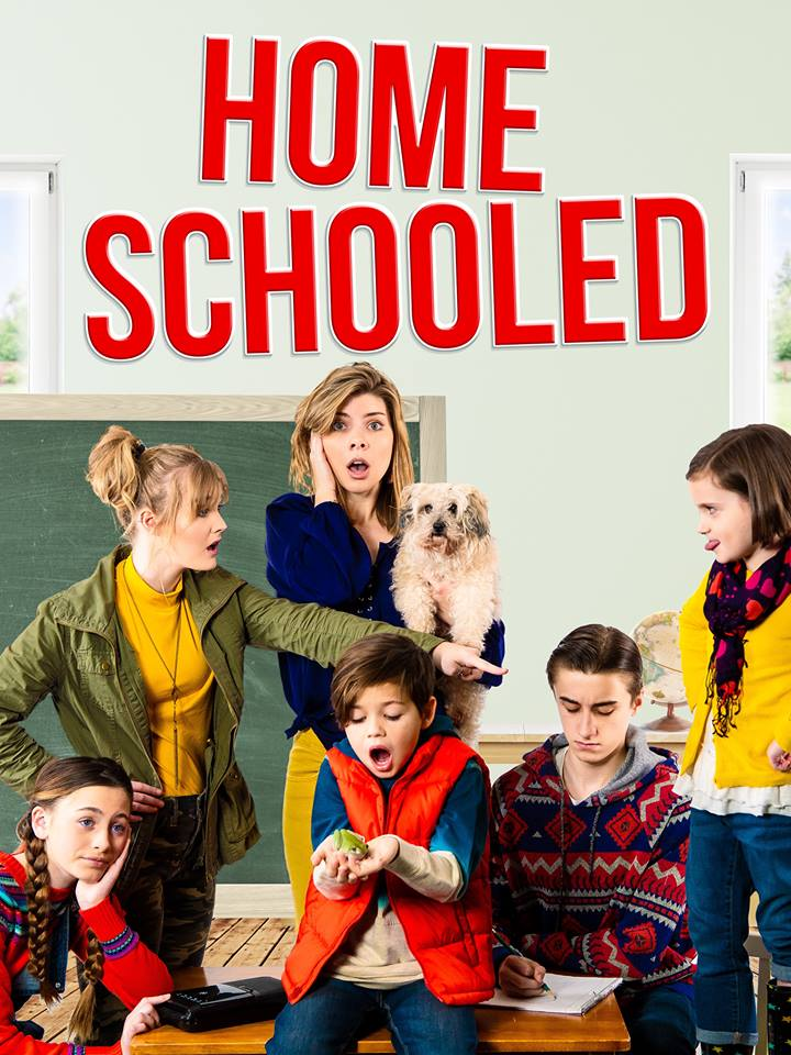 Elizabeth Howlett in the series Homeschooled, by Christian web company, PureFlix.